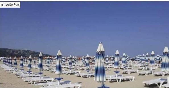 Плажите на Црно Море празни: Лежалка се наплаќа 5 евра (ФОТО)