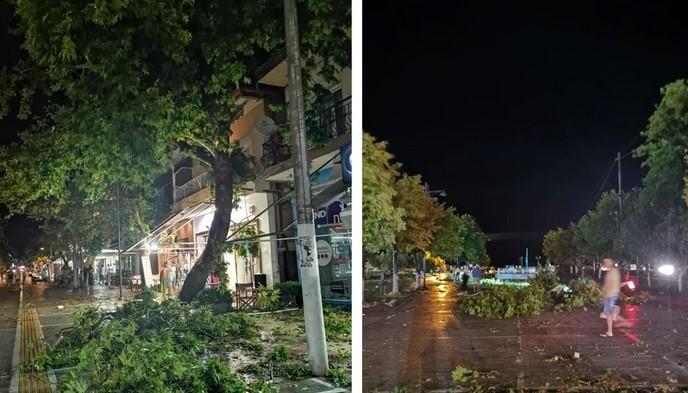 Дежурен телефонски број за повредени македонски државјани во невремето на Халкидики