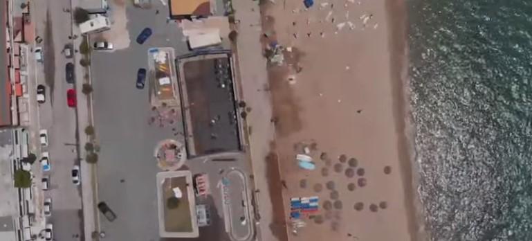 Тажни слики: Kaко изгледа Халкидики по невремето снимено со дрон (ВИДЕО)