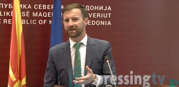"""Димовски: Амбасадорите знаат во кој град завршиле """"Луј Витон"""" чантата со парите"""