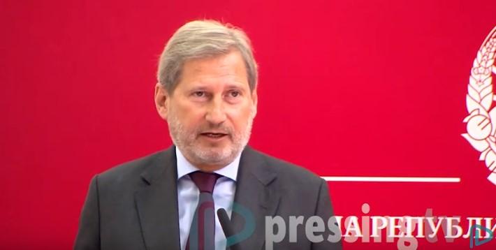 Хан за новиот комесар за проширување: Треба да му се даде шанса дека ќе ги почитува европските вредности