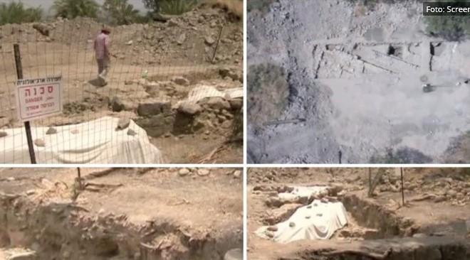 Големо откритие: Дали во Изреал е пронајдена куќата на Св. Петар? (ФОТО)