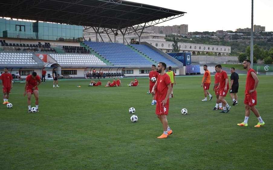 Таневски: Лавовскиот карактер на фудбалерите ни дава надеж за успех