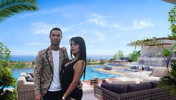 Роналдо се поднови со нова куќа: Георгина ќе ужива во четири спални соби, базен, кино и поглед кон Медитеранот (ФОТО)