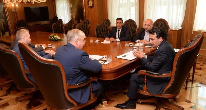 Измамата нема да влијае на односите: Заев се сретна со рускиот амбасадор Бeздникин (ФОТО)