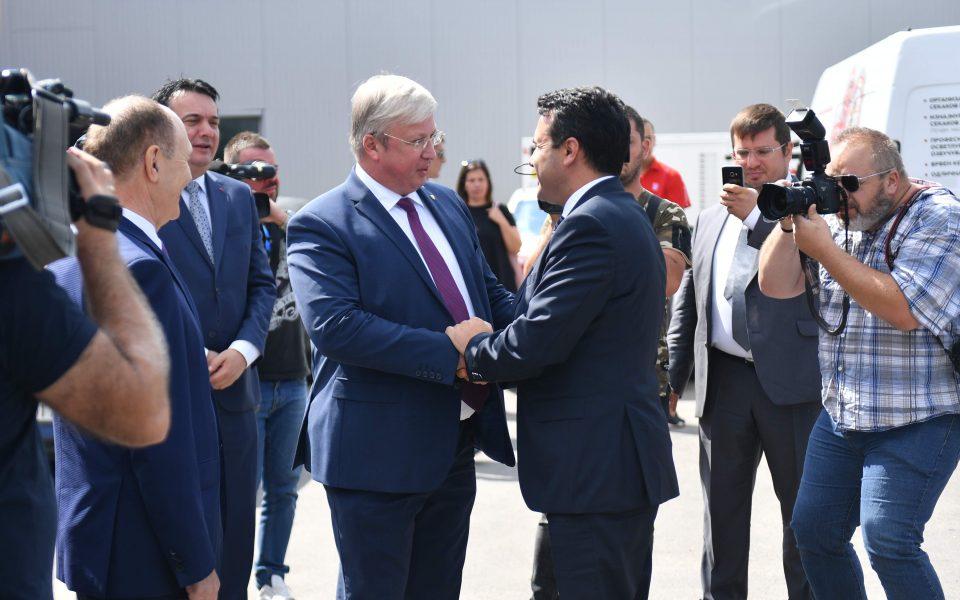 """Заев на отворањето на бензиската на """"Лук оил"""" – потребен е договор за слободна трговија со Русија"""