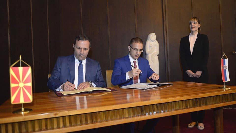 Потпишан Договор за заеднички контроли на ГП Табановце-Прешево(ВИДЕО)
