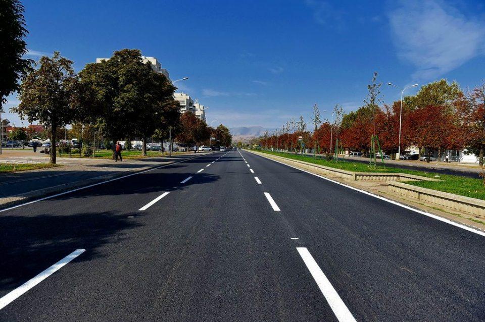 Град Скопје прво го најави, па го одложи асфалтирањето на дел од бул.Партизански одреди поради временските услови
