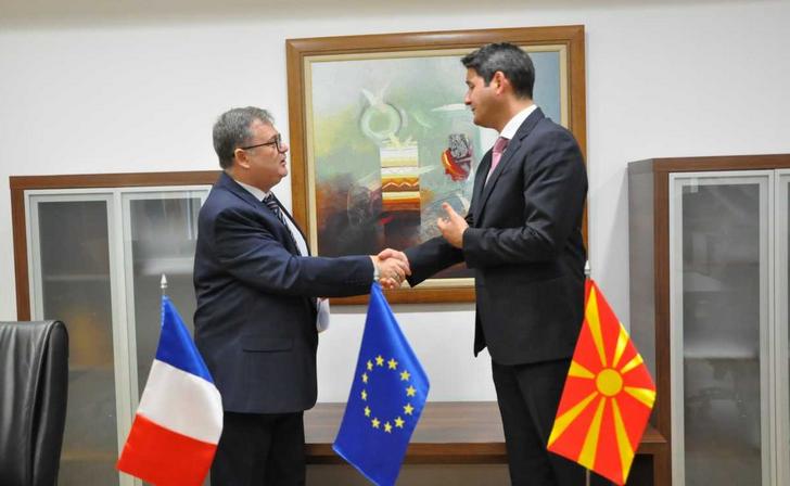 Нуредини – Тимоние: Франција ќе не поддржи во напорите за зачувување на Охрид на листата на УНЕСКО