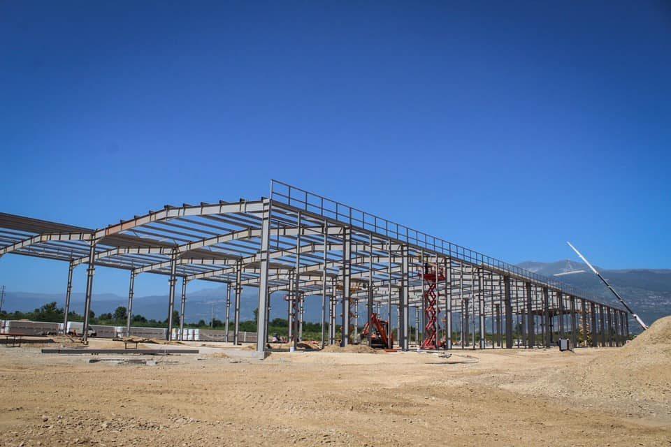 Фабрика за производство на стакло ќе почне да работи во ТИРЗ Тетово
