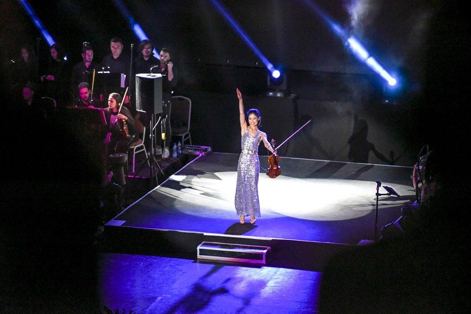 """Со спектакуларен гала концерт на Ванеса Меј отворено 59. """"Охридско лето"""""""