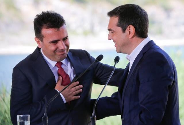 Заев на Грците им вели дека е неприфтлива промена на македонскиот идентитет