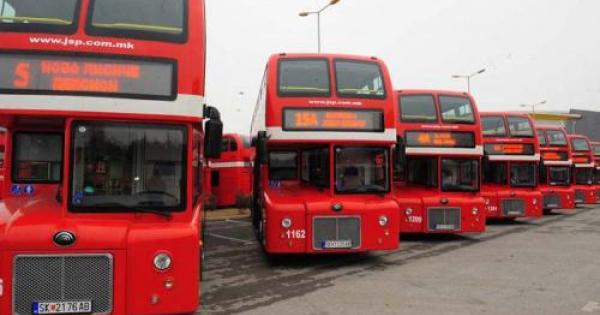 ЈСП Скопје: Автобусите в понеделник ќе возат по неделен, зимски возен ред