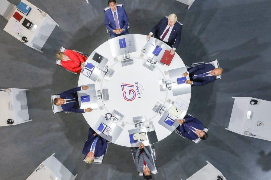 Лидерите на Г7 се фокусираат на стартешката и безбедносна агенда