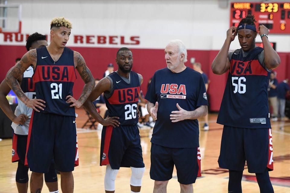 Грег Поповиќ успеа да ги собере кошаркарите на САД за Светското во Кина