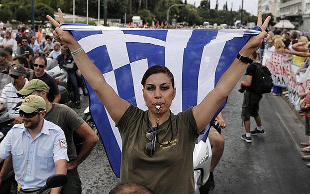Полициски час во Грција