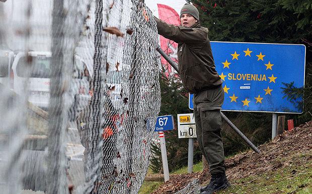 Словенија со дополнителна ограда на границата со Хрватска