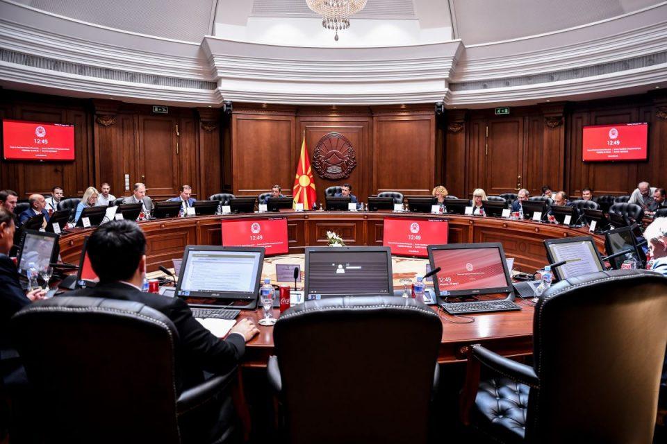 Седница на Владата: Tеми надворешна политика, безбедност, економија