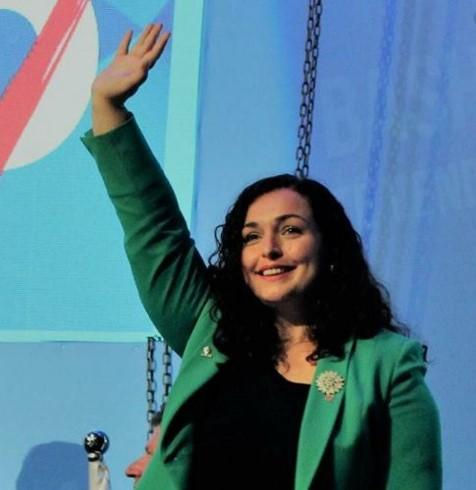 Вјоса Османи- нова претседателка на Косово