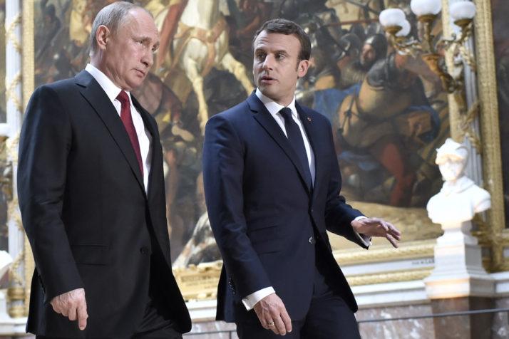Путин и Макрон в понеделник на состанок во Париз
