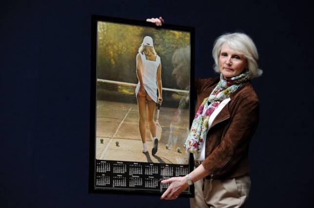 """""""Тенисерка"""", постер од 70-тите години што го направи тенисот интересен"""