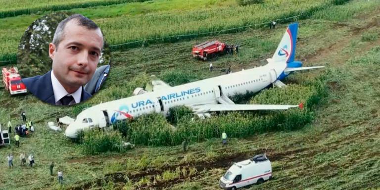 """Рускиот пилот кој спаси 233 патници:""""Не сум херој, го направив тоа што морав""""!"""
