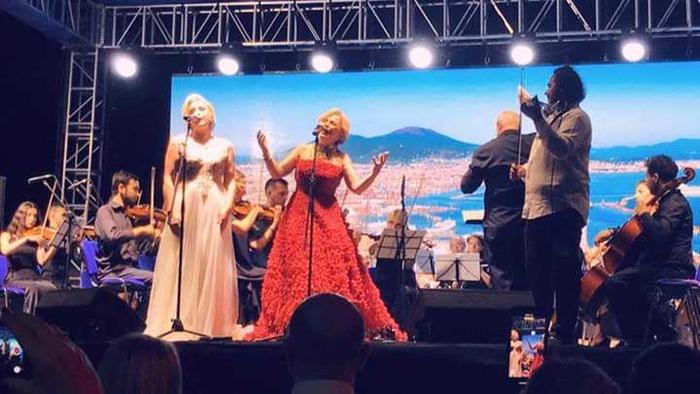 Концерт на оперската дива Мула и сопранот Ахмети во Дебар