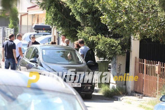 Јанева со полициска придружба се упати кон Кривичен, каде ќе се одлучува за притвор