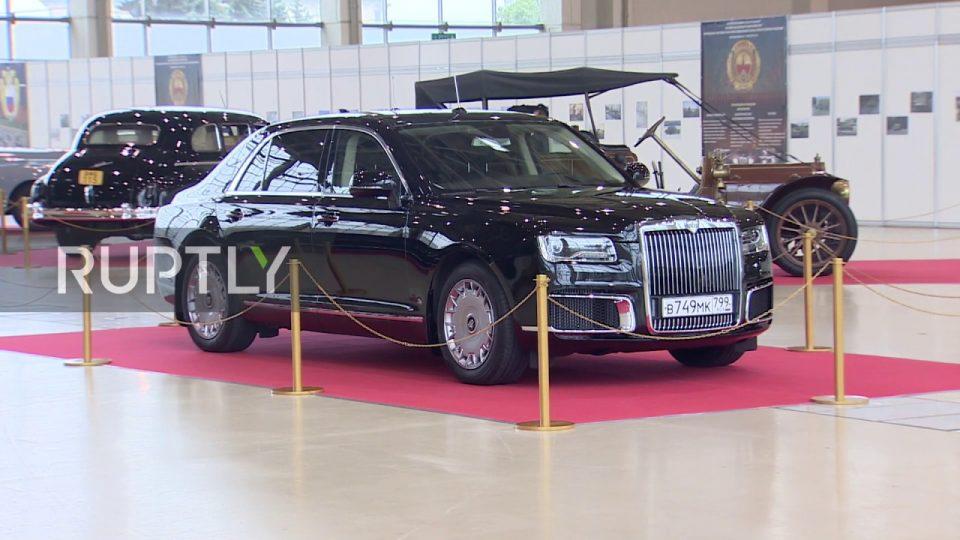 Изложба на претседателските возила на Сталин, Горбачов, Путин (ВИДЕО)
