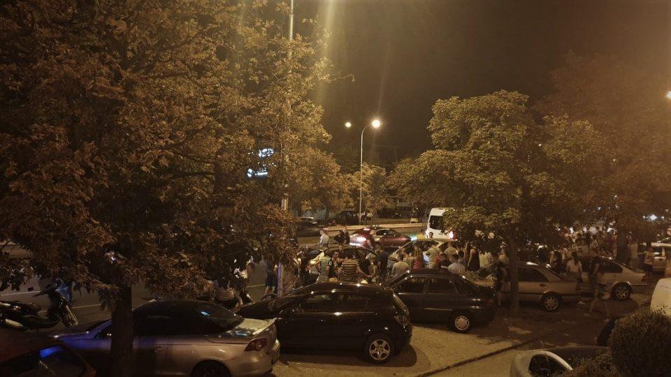 Страотна сообраќајка кај Порта Влае (ВИДЕО)