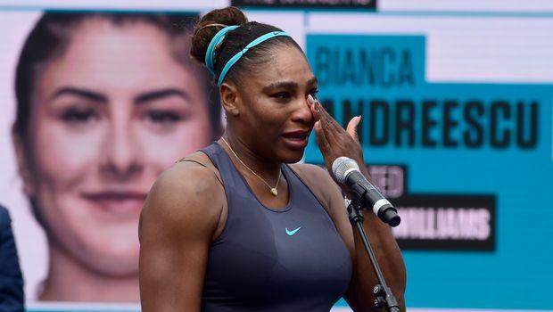 Серена во солзи го предаде финалето на Мастерсот во Канада
