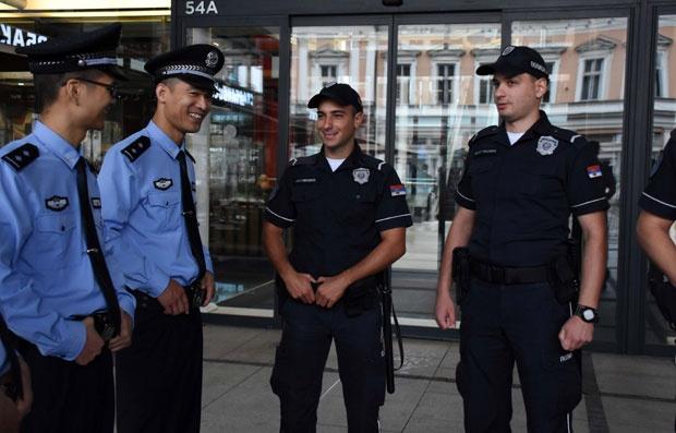 Заеднички патроли на српската и кинеската полиција во Белград