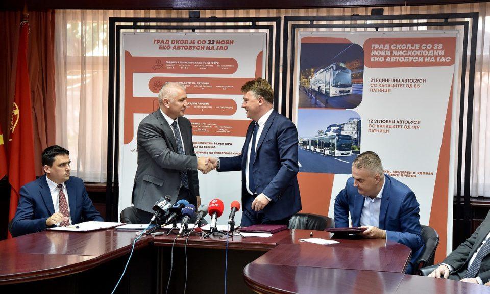 Идната пролет Скопје ќе добие нови 33 еколошки автобуси