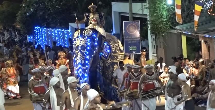 Слон подиве на прослава во Шри Ланка: Газеше се пред себе (ВИДЕО)