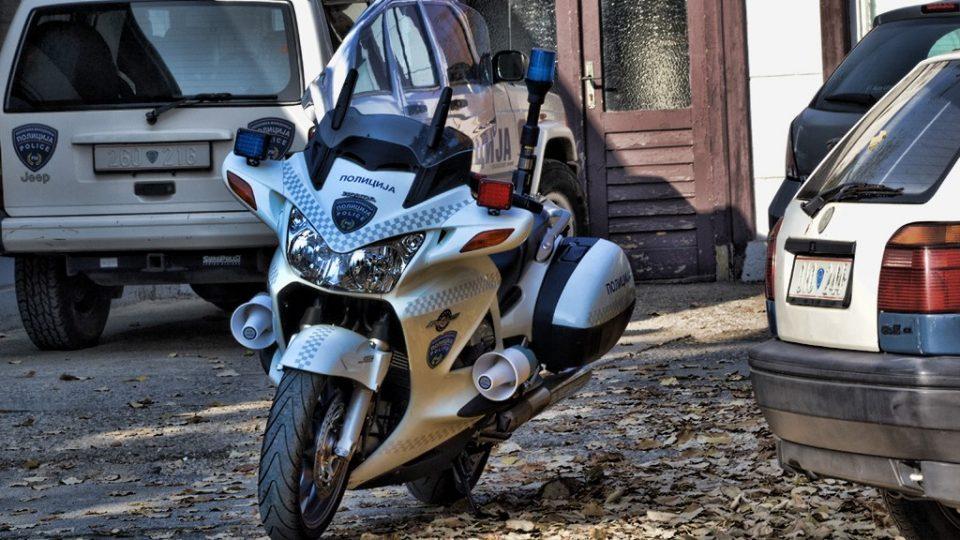 """Моторџиите синоќа беа """"мета"""" на полициска акција"""