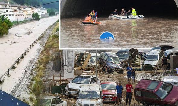 Библиски потоп во југоисточна Шпанија, Лондон објави аларм за своите туристи