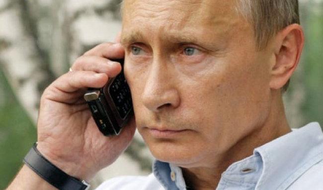 Каков е телефонот на Путин?