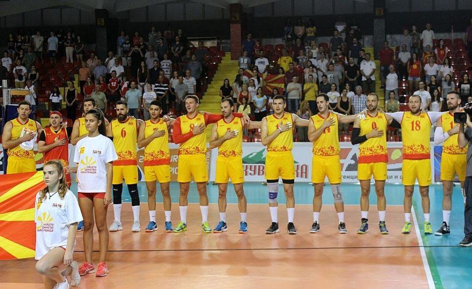 Македонските одбојкари утре дебитираат на Европското првенство