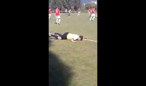 Мртов пијан линиски судија на фудбалски натпревар во Чешка (ВИДЕО)