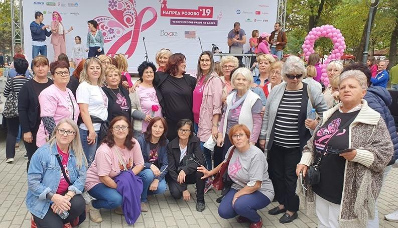 Раните контроли спасуваат животи – марш за подигање на свеста за ракот на дојка