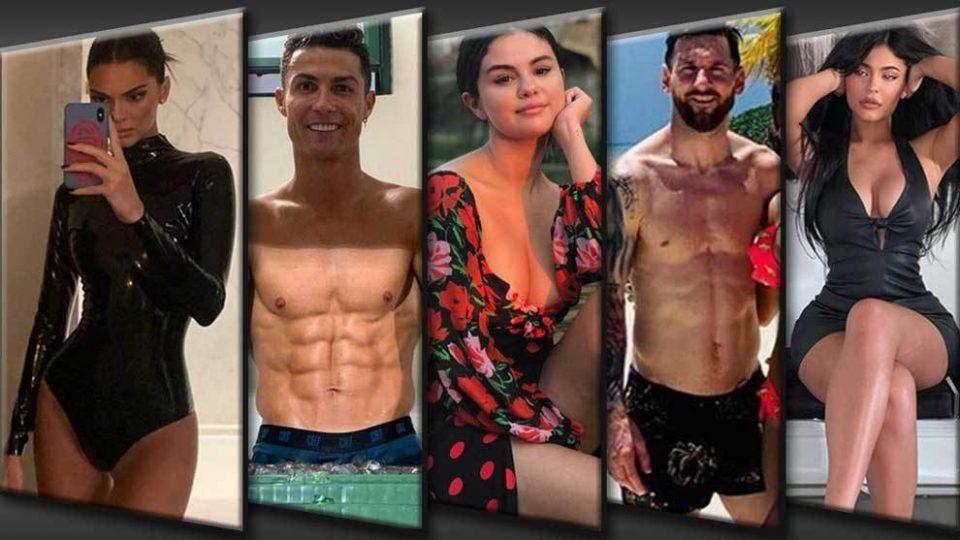 Кристијано Роналдо, Меси, Кендал Џенер… Секој пост го претвораат во злато (ФОТО)