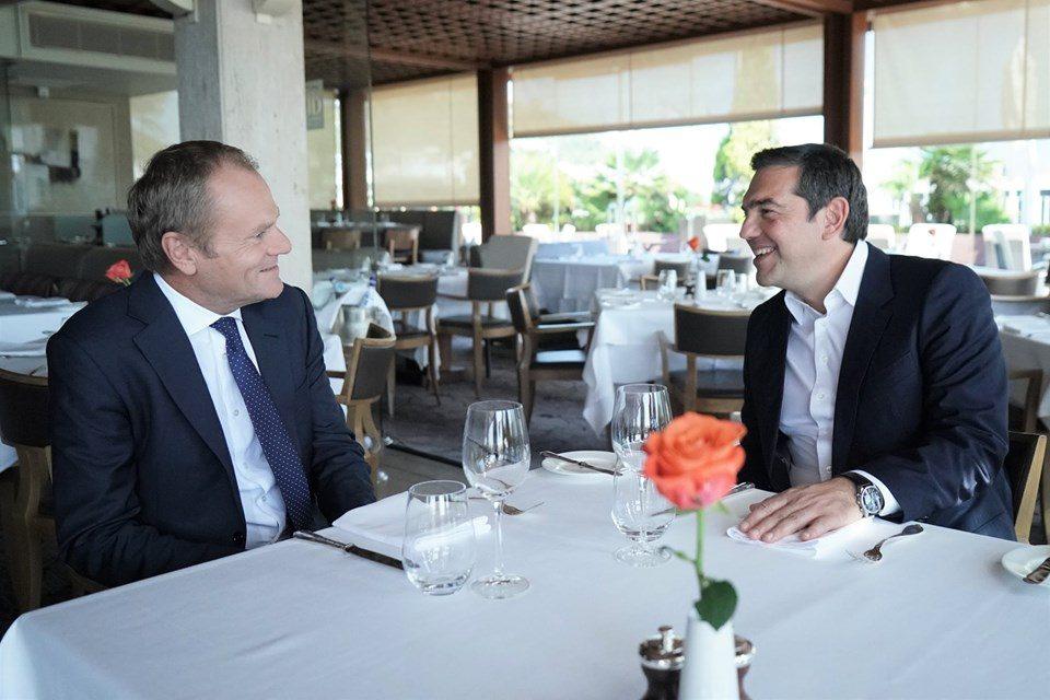 Ципрас го убедувал Туск за важноста од почнување пристапни преговори со Македонија и Албанија