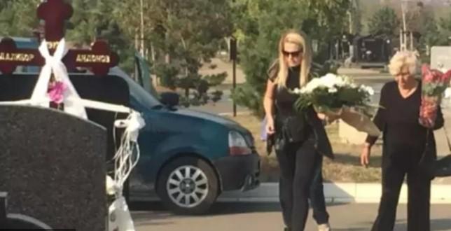 40 дена од смртта на раперот Гру: Сопругата и родителите неутешни (ФОТО)
