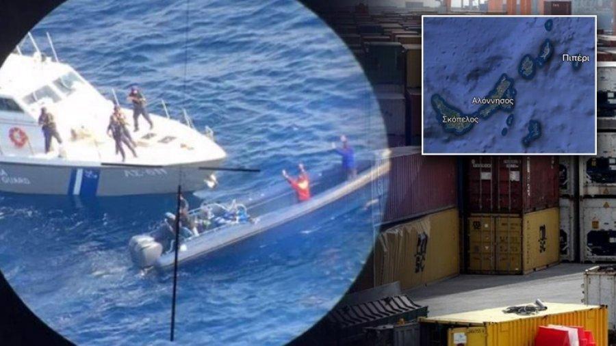 Бркотница на море: Грчката полиција заплени 1,7 тони дрога од Албанија