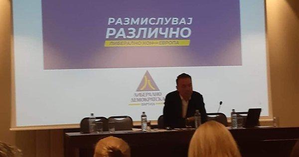 На централниот одбор на ЛДП изгласани нови потпрестседатели