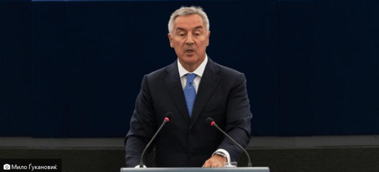 Претседателот на Црна Гора, Мило Ѓукановиќ во официјална посета на земјава