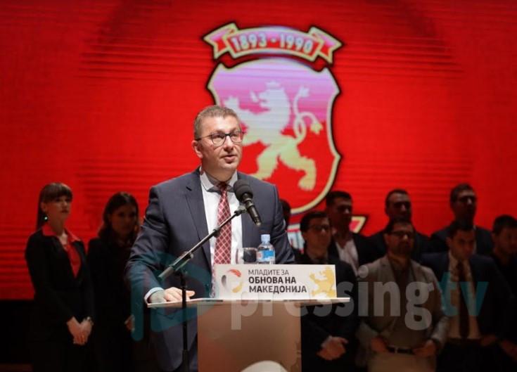 Мицкоски го запозна Ахмети за предлогот за министер во МВР