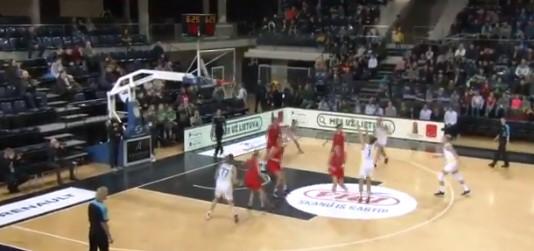 Ова 13 годишно девојче само играше против албанските кошаркарки (ВИДЕО)