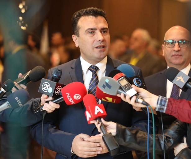 Премиерот не се сеќава на изјавата на Заев дека Русија финансирала насилни протести (ВИДЕО)