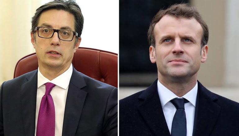 Пендаровски од Макрон директно ќе ги слушне француските ставови за проширувањето